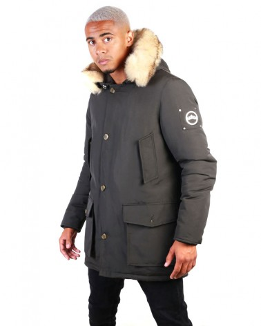 boutique streetwear Parka  GODILLE KHAKI  paris fashion sportswear homme royal wear