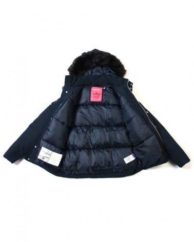 boutique streetwear Parka  NORDIKA NAVY  paris fashion sportswear homme royal wear