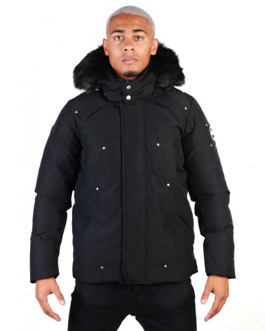 boutique streetwear Parka  NORDIKA BLACK  paris fashion sportswear homme royal wear