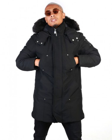 boutique streetwear Parka  REDPIST BLACK  paris fashion sportswear homme royal wear