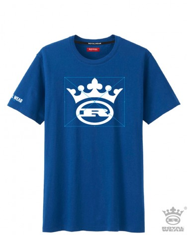 boutique streetwear T-Shrit  College bleu  paris fashion sportswear homme royal wear