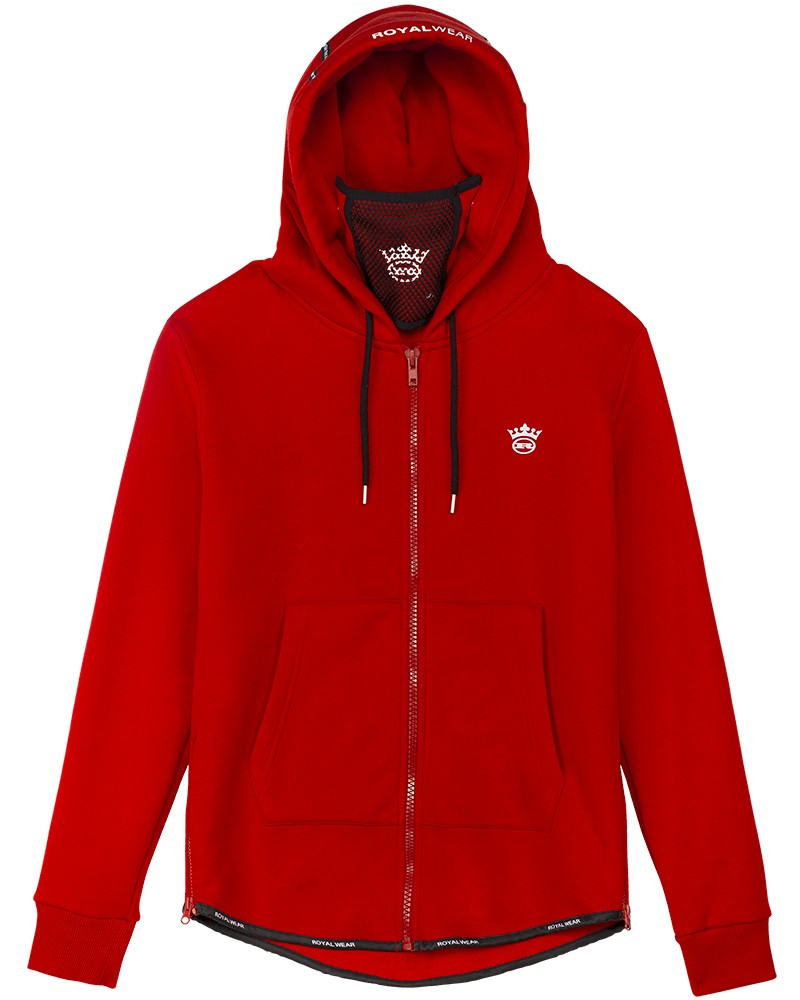 boutique streetwear HOODIES  Phenix rouge Zip  paris fashion sportswear homme royal wear