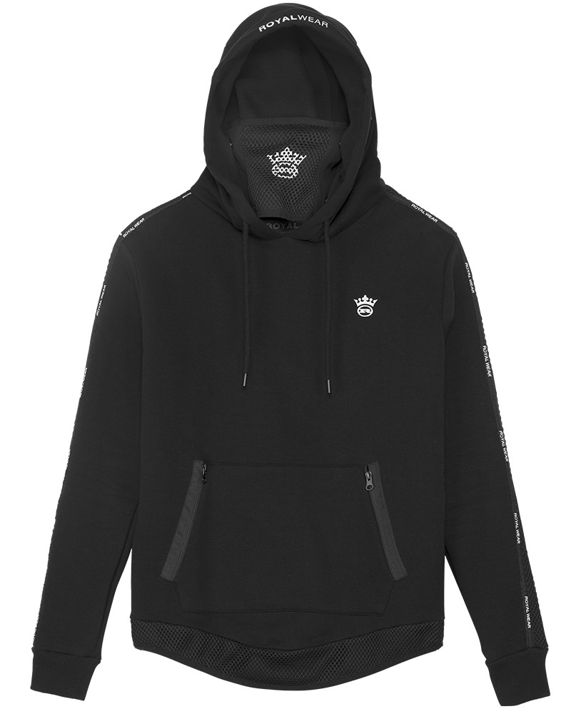 boutique streetwear HOODIES  Phenix Black  paris fashion sportswear homme royal wear