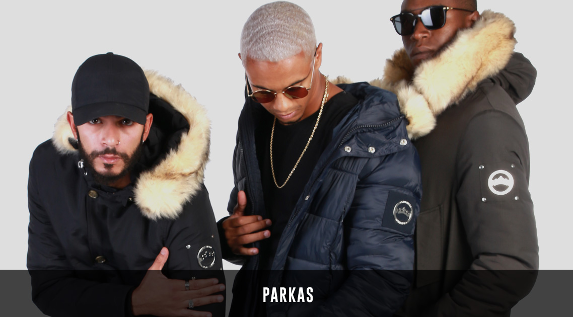 parkas streetwear homme paris royal wear